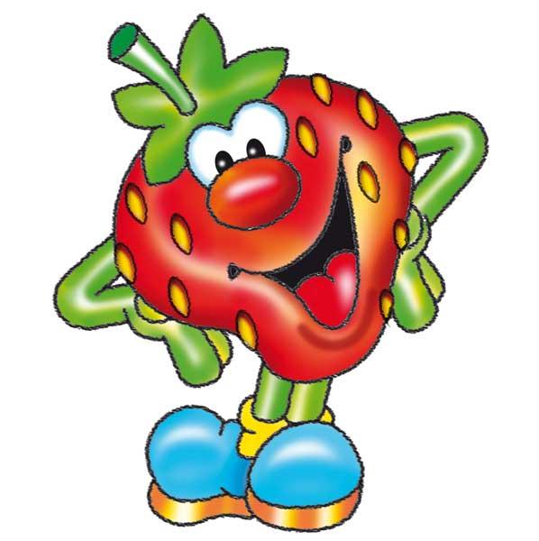 Erdbeere Lustig